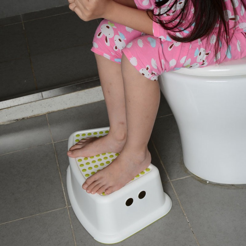 2019 Multifunction Children Bathroom Stool Slip-resistant Step Pads Anti-skid Headblock Foot Pedal Steps Bath Stair Toilet Stool