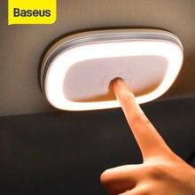 Baseus Magnetische Auto Lesen Licht LED Auto Dach Decke Lampe Wiederaufladbare Auto Umgebungs Licht für Notfall Beleuchtung für Auto Stamm