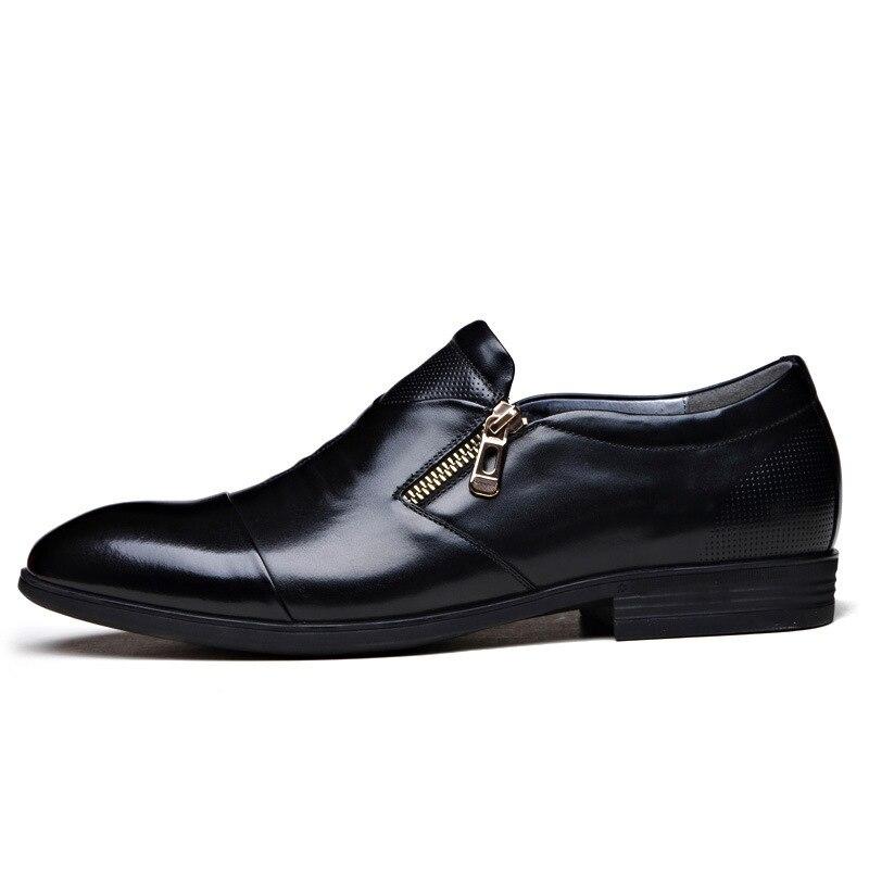 2020 New Leather Shoes Men's Business Dress Size Shoes Wild Casual Wedding Shoes Fashion High-end Atmospheric Men's ShoeZH100638