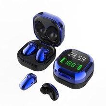 TWS Bluetooth 5.1 kulaklık 2200mAh şarj kutusu kablosuz kulaklık 9D Stereo spor su geçirmez kulaklıklar kulaklıklar mikrofon ile
