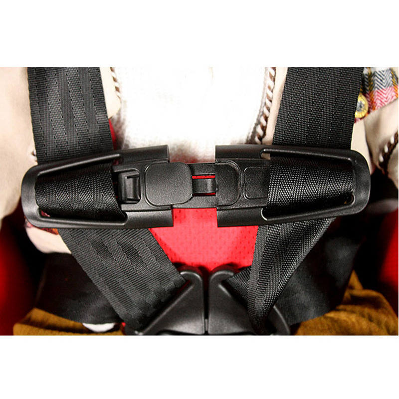 Car Baby Safety Seat Strap Belt Harness Chest Child Clip Safe Buckle Latch Children Safety Seat Accessories Safety Buckle Drop