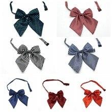 Классический детский галстук-бабочка для мальчиков и девочек, Детский галстук-бабочка, Модный деловой Свадебный галстук-бабочка, платье, рубашка, аксессуары