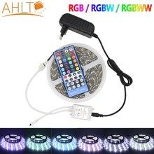 LED Lights Strip Highlight 5050 White 5M IR RGB 300Led Strip Flexible Lamp Tape Diode Home Holiday Garden Decoration Lighting
