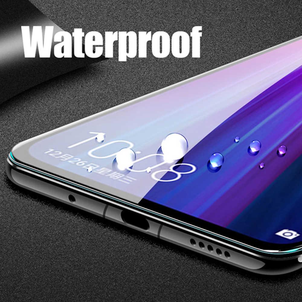 2 sztuk pełna hartowana obudowa szkło dla Xperia XA1 XA XA2 Ultra XA3 Plus L1 L2 L3 szklany ochraniacz ekranu folia ochronna przypadku telefonu