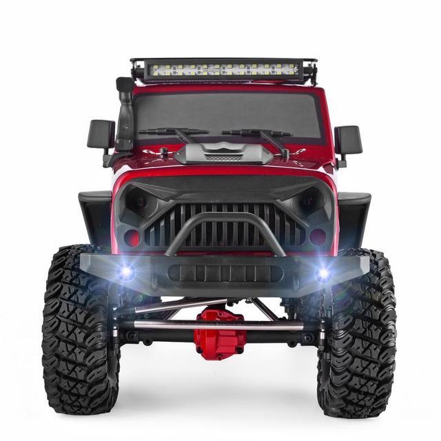 RGT RC Crawler 1:10 4wd RC Car Metal Gear Off Road Truck RC Rock Crawler Cruiser EX86100 Hobby Crawler RTR 4x4 Waterproof RC Toy 3