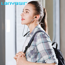 Lanyasir Air-2 Earphones Wireless Bluetooth audifonos neckband  Sport Buletooth headset phone bluetooth