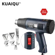 Nozzle KUAIQU Power-Tool Heat-Gun Temperature-Controlled Electric 220V 1800W Attachments