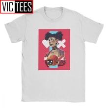 Amor muerte Robots inspirado camiseta para hombres animación Terror Punk Vaporwave Vintage Camiseta de algodón