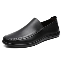 men's Genuine Leather casual shoes spring autumn men loafer shoes male Driving shoes soft all-match cowhide breathable %0305 men s doug shoes spring and autumn summer lazy loafer men shoes men genuine leather driving shoes male british retro cowhide
