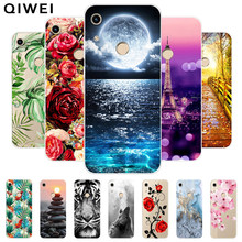 For Huawei Honor 8A Pro Case Flowers Soft TPU Fundas Silicone Cover For Huawei Honor8A Pro A8 8 A Pro JAT-L41 Phone Back Cases(China)