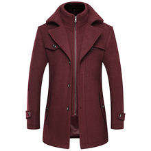 2020 Men Wool clothing Coat Winter Cashmere Jacket