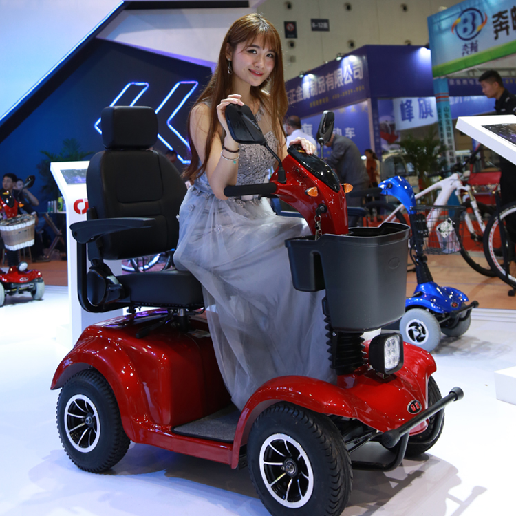 500-2000W four wheel electric mobility scooter for disabled