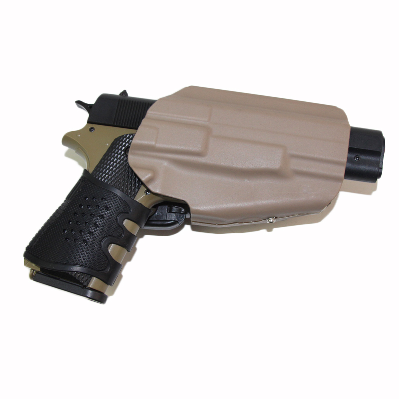 Tactical Universal Right Hand Model 579 Grip Lock Pistol Holster with Belt Clip