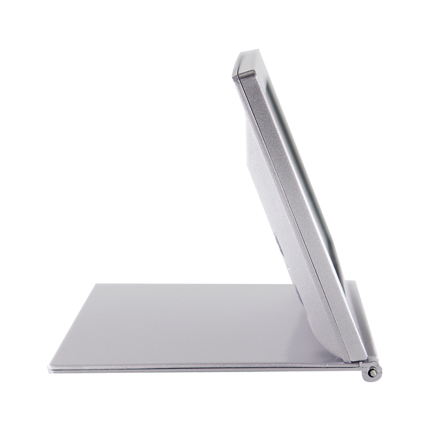 Folding LCD Digital Alarm Clock Desk Table Weather Station Desk Temperature Travel Ectronic Mini Clock 3