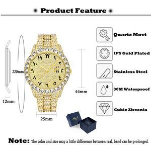 Оригинальные часы PLADEN дропшиппинг с арабскими цифрами мужские часы AAA Rolexable_watch Yacht Master Big Dimaond с ободком Iced Out мужские часы s