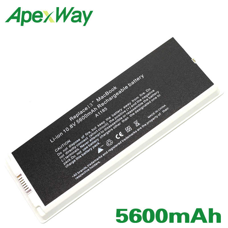 "ApexWay A1185 batterie d'ordinateur portable pour Apple MacBook 13 ""A1181 (2006-2009 ans) MA701 MB061 MB062 MB063 MB402 MB403 MB404 MB881 MC374"