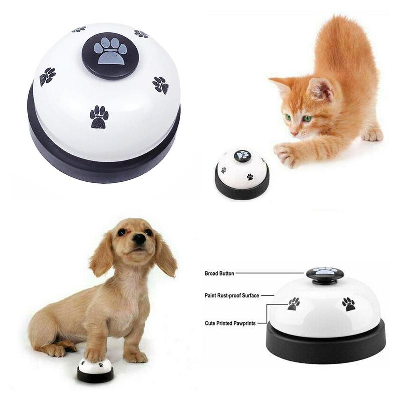Pet Bell Supplies Trainer Bells Wholesale Training Dog Cat Training Dog Equipment Training High Dogs Toys Quality G4R3-4