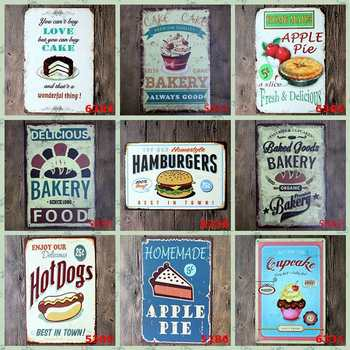 New Retro Iron Painting 30x20cm Bar Club Iron Sheet Picture Plaques Vintage Metal Painting Gifts Home Decoration Wall Ornaments