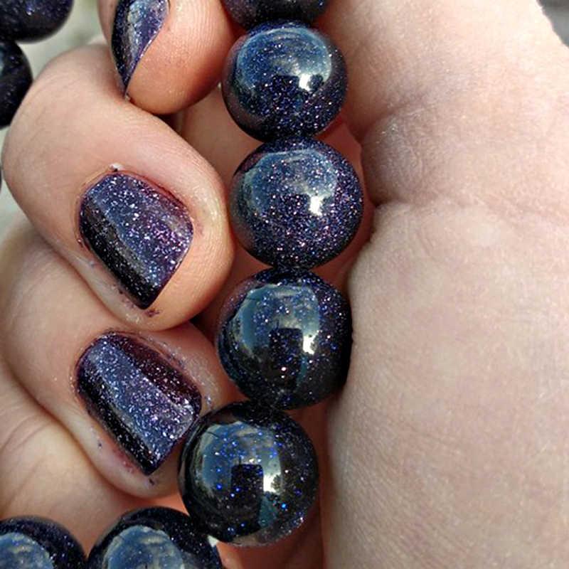 FLTMRH naturalny kamień niebieskie z cyrkonią tygrysie oko okrągłe koraliki 4 6 8 10 12 MM DIY bransoletka naszyjnik do tworzenia biżuterii hurtowych