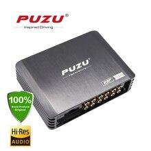 PUZU DSP 4ch to 8ch автомобильный DSP усилитель жгут проводов подключи и работай с 4X180W Максимальная выходная мощность Многоязычная поддержка