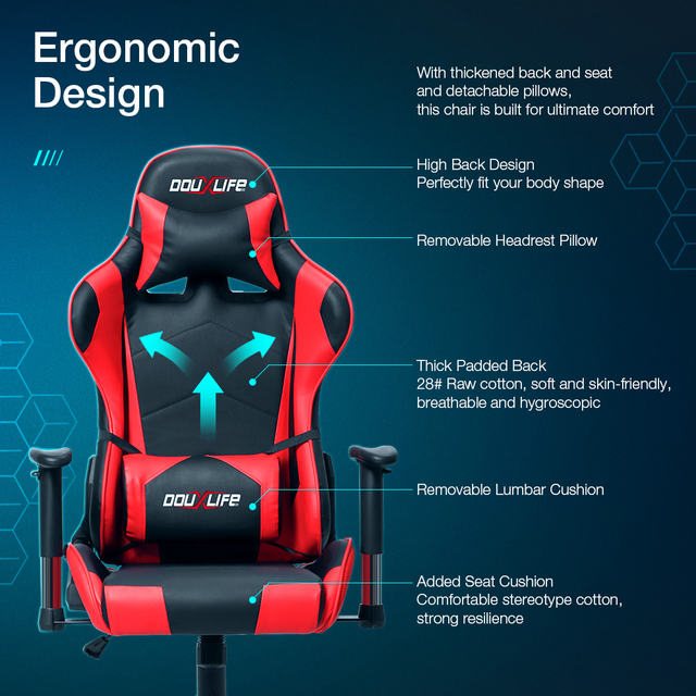 Computer Chair Chair Comfortable Home Students Sitting Net Cloth Chair Can Lift Contracted Office Chair 7 Days Fast delivery 5