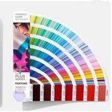 1867 cores pantone extended gamut revestido calibre guia gg7000 padrão internacional cmykogv impresso cartão de cor design gráfico