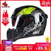 GXT Helmet Motorcycle Full Face Moto Helmets Double Visor Racing Motocross Helmet Casco Modular Moto Helmet Motorbike Capacete #