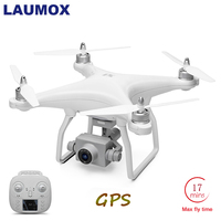 LAUMOX X1 RC Drone 1080P HD Camera 2 Axis Brushless Motor 5G Wifi FPV GPS Drone Quadcopter Self stabilizing Gimbal 17 Min Flight