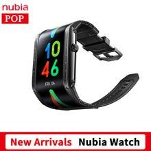 Умные часы глобальная версия Nubia 4,01 дюйма, складные, гибкие, с Bluetooth