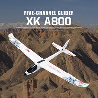 XK A800 5-canales Avión RC adelante-¡fijo-ala de aviones de Control remoto planeador 3D6G interruptor de juguete