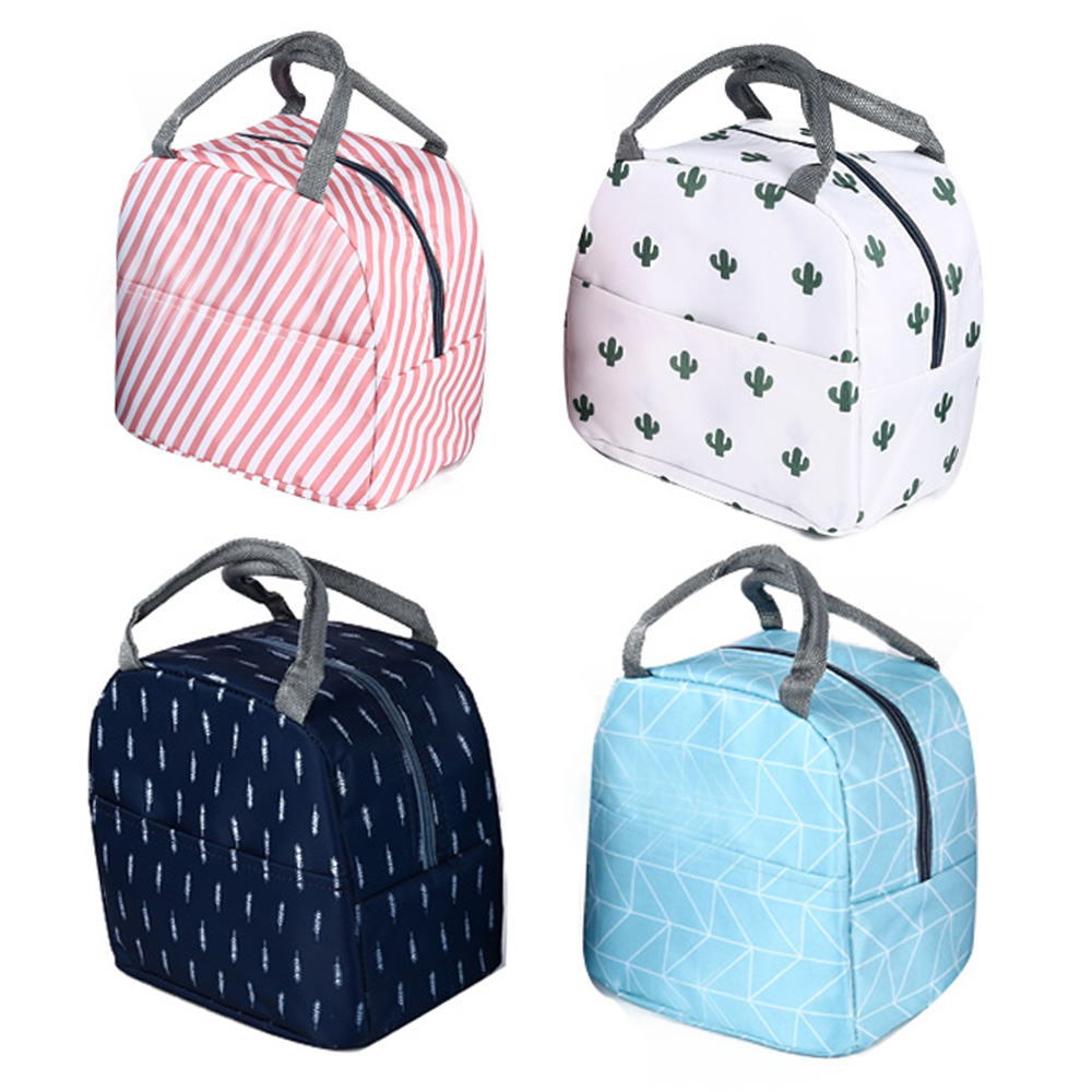 22*17*20cm Brand New Style Portable Oxford Waterproof Carry Storage Bag Stationery Organizer Bento Bag