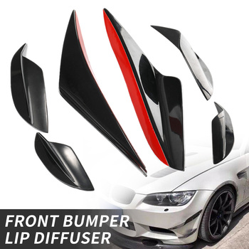 Universal Car Front Bumper Lip Diffuser Fin Splitter Spoiler Sticker Guard for bmw e92 e90 e60 f30 f10 Styling Accessories image