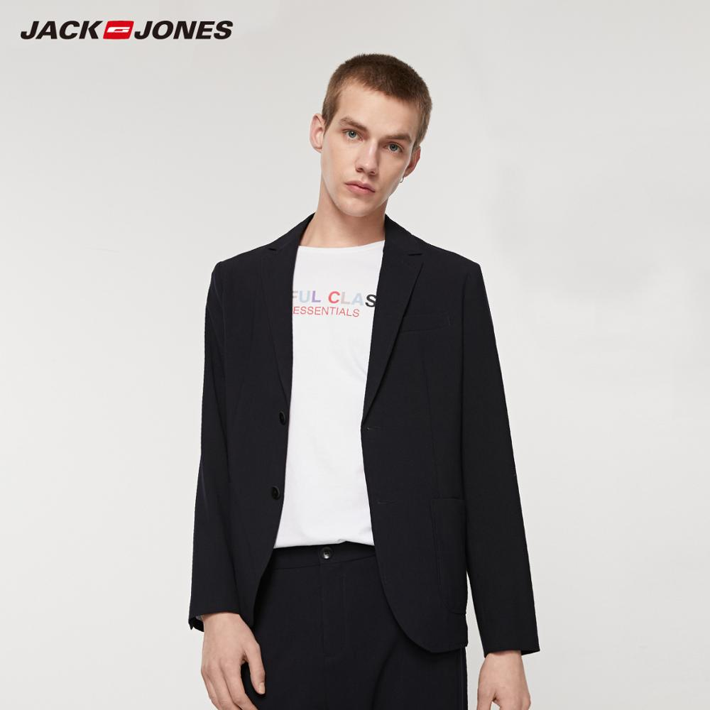 JackJones Men's Straight Fit Smart-Casual Blazer Style| 219208511