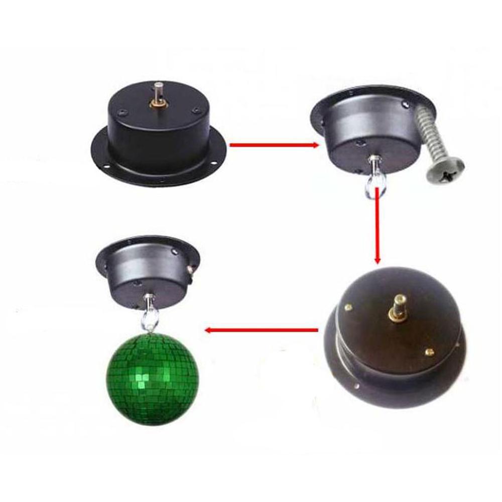 1.5 RPM հայելային գնդակի շարժիչ պտտվող - Կոմերցիոն լուսավորություն - Լուսանկար 6