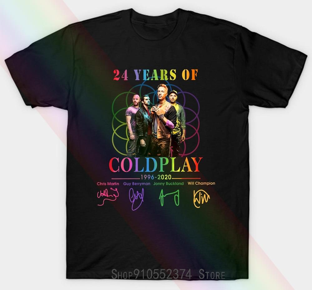 24 Years Of Coldplay Unisex T-shirt Women Men