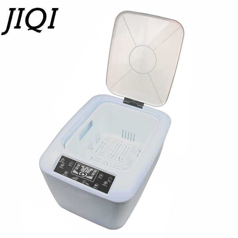 JIQI 4.5L Fruits Vegetable Washer Sterilizer Oxygen Concentrator Food Detoxification  Washing Machine Dishes Bowls Cleaner EU US