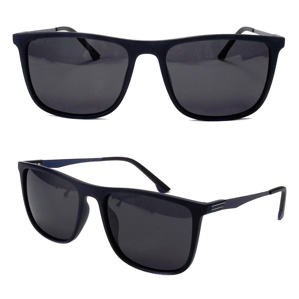 Fashion Classic Hot Sale Square TR90 Frame Polarized Lens Metal Temple Size 56-24-141 Outdoor UV400 lentes de sol