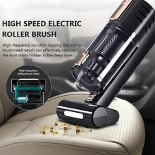 Power 120W 4500pa Portable Handheld Vacuum Black Car Vacuum Cleaner DC Cleaner Wet and dry Dual Use Car Vacuum High Powerful цена