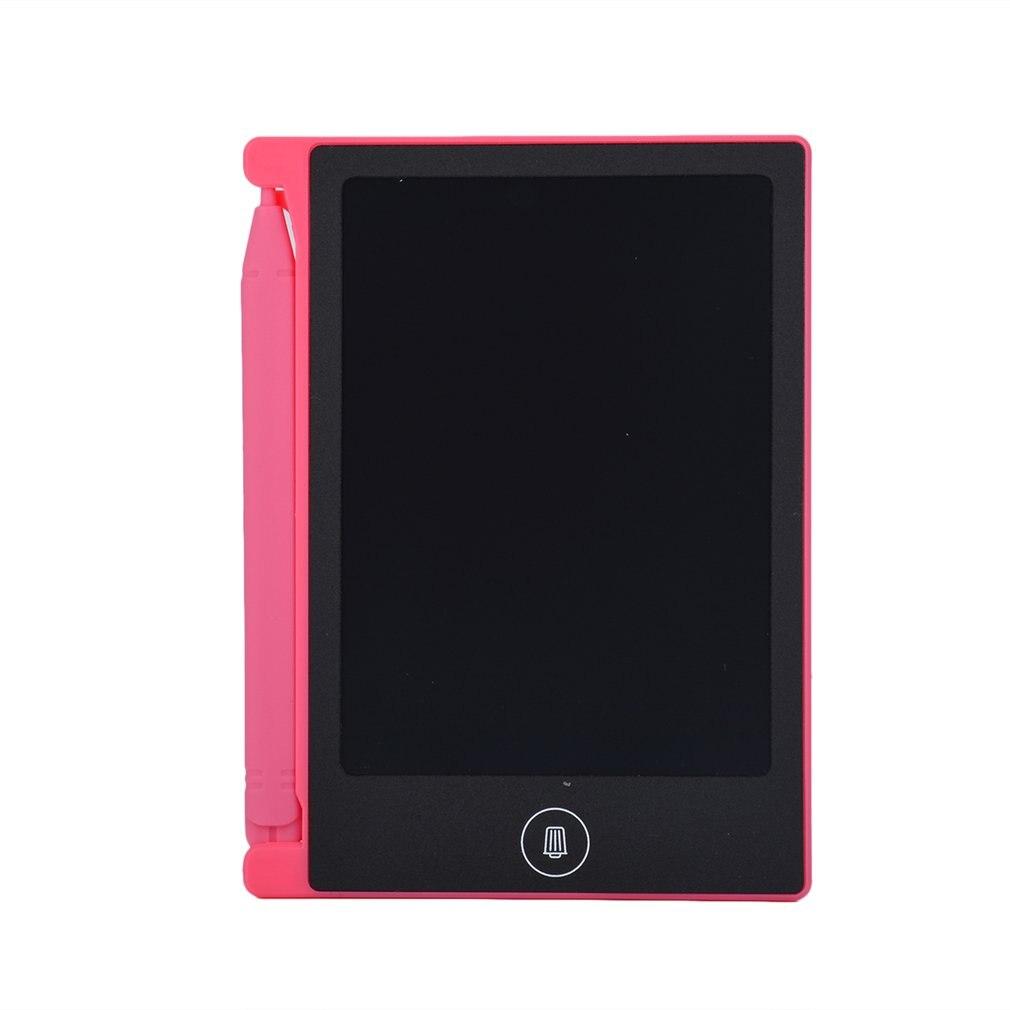 4,4 дюймовый ЖК-планшет для письма, электронный блокнот для письма, ЖК-экран, цифровой графический планшет для рисования, блокноты для рукописного ввода, Обучающие блокноты для письма - Цвет: Синий