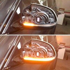 Image 4 - LED dinamik dönüş sinyal ışığı akan su flaşör yanıp sönen ışık BMW X3 X4 X5 X6 F25 LCI F26 F15 F16 2014 2015 2016 2018