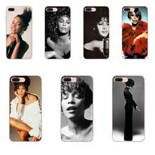 For Huawei Honor Nova Note 5 5I 8A 8X 10 Pro 9X For Moto G G2 G3 G4 G5 G6 G7 Plus Back Skin Colorful Sexy Singer Whitney Houston(China)