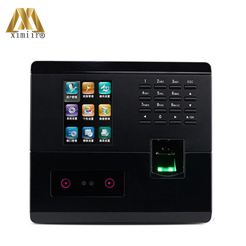 Hot Sale UF200 Color Screen With Camera TCP/IP Biometric Time Attendance Intelligent Facial Access Control System