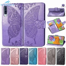 Book Wallet Cover for Samsung Galaxy S20 Plus S10E S9 S8 Plus S7 Edge A6 A8 J4 J6 +Note 10 9 8 J8 A7 Butterfly Flip Leather Case