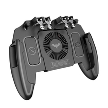 Bakeey J11 Game Controller Joystick Cooling Fan Gamepad Handle For IOS Android 6 5 inch Or Below Cellphones Games Accessories cheap None Gamepads