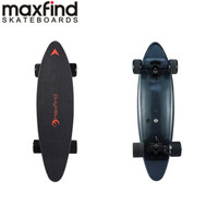 [Direto da ue] maxfind maxc 36 v 2.2ah 300 w bluetooth remoto sem fio skate elétrico auto equilíbrio longboard scooter elétrico|Scooters de duas rodas|Esporte e Lazer -