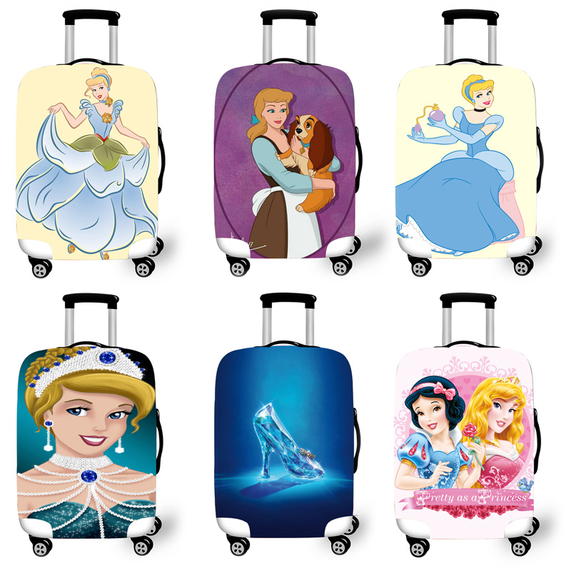 Elastic Luggage Protective Cover Case For Suitcase Protective Cover Trolley Cases Covers 3D Travel Accessories Alice T0120000000