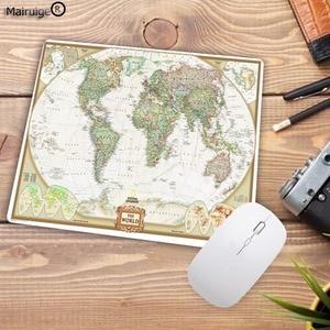 Image 3 - Большой рекламный компьютерный коврик для мыши Mairuige небольшого размера x 2 мм, печатные карты мира, компьютерный коврик для мыши, Гладкий Мягкий Противоскользящий