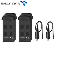 SNAPTAIN SP500 GPS Drone Battery 2pcs 7.4V 1000mAh Modular Rechargeable Li po Battery for SNAPTAIN SP500 GPS FPV WiFi Drone