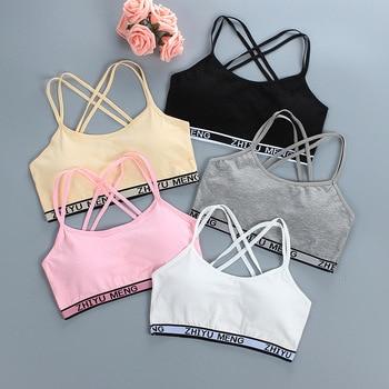 Mädchen Unterwäsche Tops für Mädchen Baumwolle Bh Sport Bh Trainings Bh 1