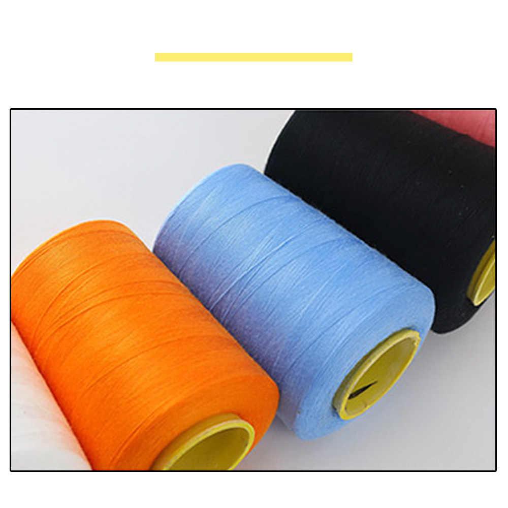 Nuevo 1 X 50m Azul Claro Algodón Hilo De Coser Bobina Para Mano//máquina de coser